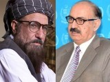 Maulana Samiul Haq (L) and Irfan Siddiqui  (R) PHOTO:FILE