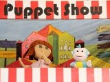 A puppet show on Dora by Ritz entertainment. PHOTO: ATHER KHAN/AYESHA MIR/EXPRESS