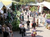 Top view of Karachi Literature Festival (KLF) on February 8, 2013. PHOTO: ATHER KHAN/AYESHA MIR/EXPRESS