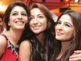 Amna Kardar, Anoushey Ashraf and Ayesha Omar. Coca-Cola announces the return of Coke Studio in Lahore. PHOTOS COURTESY FAISAL FAROOQUI AND HIS TEAM AT DRAGONFLY