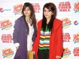 Annum Zulifqar and Aadarsh. Johnny Rockets opens its outlet in Lahore. PHOTOS COURTESY TAKEII