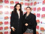 Ayesha and Shazia. Johnny Rockets opens its outlet in Lahore. PHOTOS COURTESY TAKEII