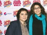 Bunty  and Vaneeza Ahmed. Johnny Rockets opens its outlet in Lahore. PHOTOS COURTESY TAKEII
