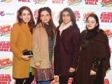 Mahvish, Madiha, Maham Habib and Zara. Johnny Rockets opens its outlet in Lahore. PHOTOS COURTESY TAKEII