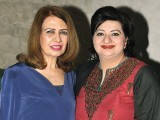 Naila Saadat and Zehra Valliani. Adnan Khalid and Wahaj Aslam launch the restaurant Tai Zu in Islamabad. PHOTOS COURTESY REZZ PR AND EVENTS