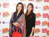 Rabia and Mehroo. Johnny Rockets opens its outlet in Lahore. PHOTOS COURTESY TAKEII