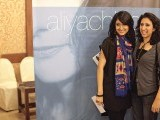 Asma and Almitra. Aliya Chinoy launches her album Almost Dawn in Karachi. PHOTOS COURTESY IDEAS EVENTS PR