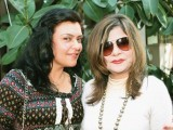 Saira and Yasmeen Sarah and Mariam Gandapur host a brunch at the Patio restaurant, Lahore.