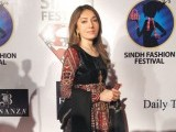 Sharmila Farooqui. Sindh festival holds a fashion festival in Karachi. PHOTOS COURTESY TAKEII