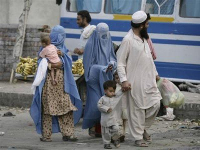 Haripur police has directed all refugees to relocate back to their camps. PHOTO: REUTERS/FILE