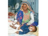 Negligence and failure of the local administration led to the soaring death toll of children in Tharparkar. PHOTO: ONLINE