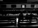Class, a word with many meanings: Three men wait at Cantt Railway station in Karachi. PHOTO: MOHAMMAD ALI ADDARSH