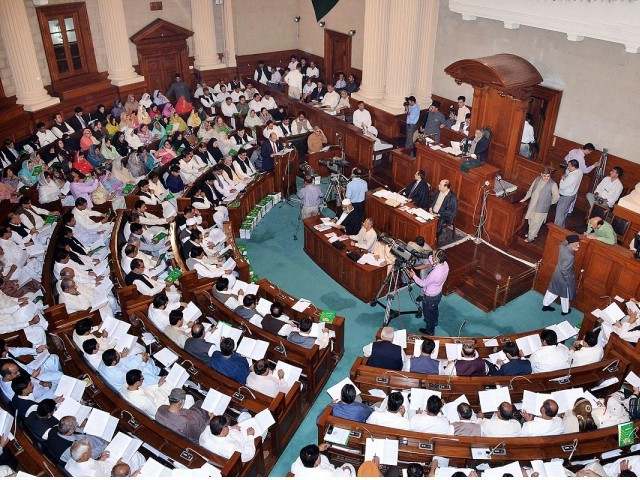 Punjab Assembly. PHOTO: ONLINE/FILE