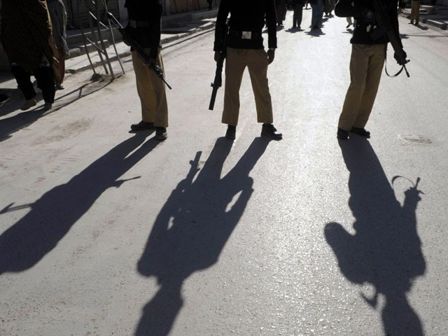 Around 300 police officials in Rawalpindi were dismissed after they were found guilty of corruption. PHOTO: AFP