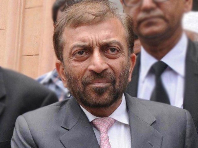 Muttahida Qaumi Movement MNA Farooq Sattar said the internal security is most crucial because even the country's military admitted that the greatest threat to Pakistan is from within. PHOTO: EXPRESS/RASHID AJMERI