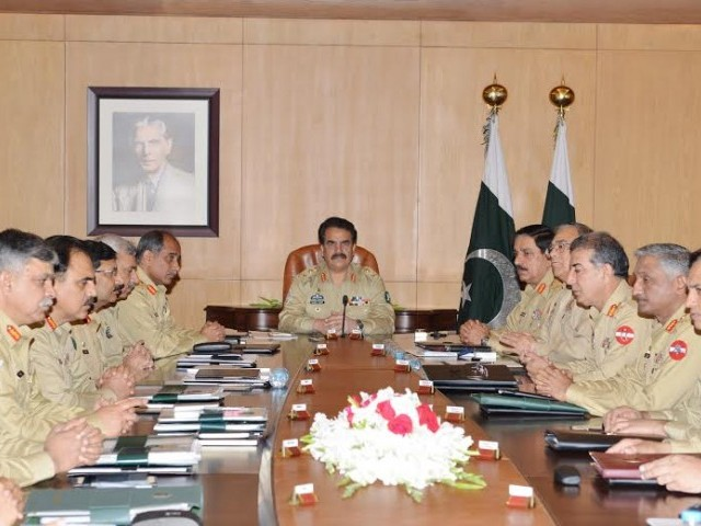 General Sharif also took the opportunity to commend the troops for implementing extra security measures along the Pak-Afghan border. PHOTO: ISPR