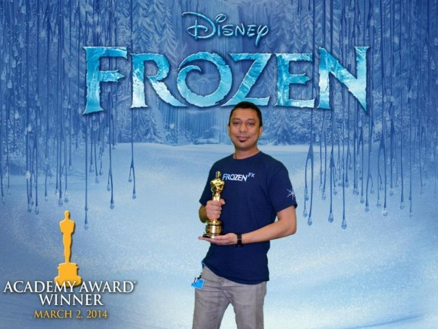 Pakistani visual effects artist, 38-year-old Mir Zafar Ali. PHOTO: DISNEY