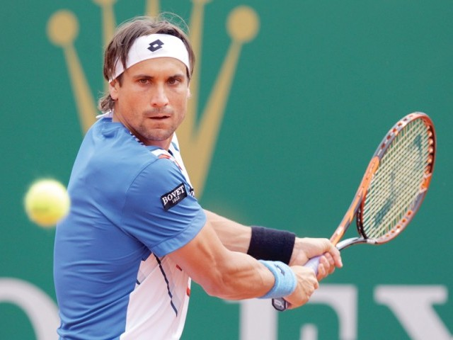 Ferrer used a series of powerful baseline shots to keep Nadal pinned to the back of the court and closed out the victory on his first match point. PHOTO: AFP