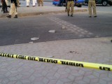 A photo from the crime scene. PHOTO: RABIA ALI