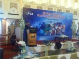 PTA chairperson addressing the audience. PHOTO: AZAM KHAN