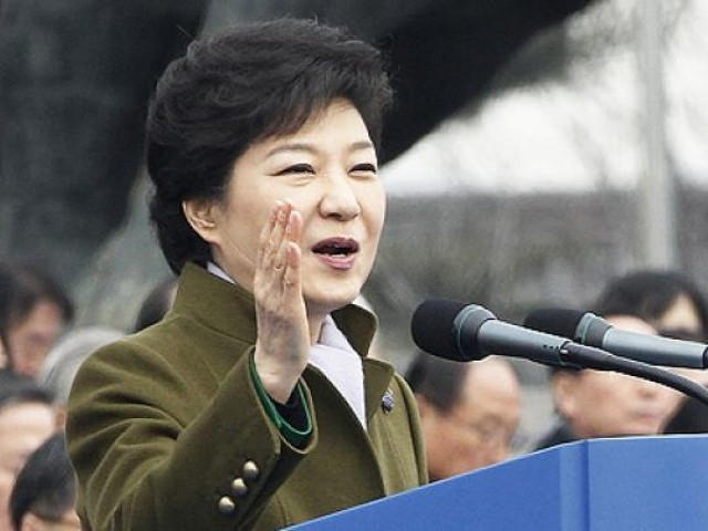 South Korean President Park Geun-Hye. PHOTO: AFP/ FILE