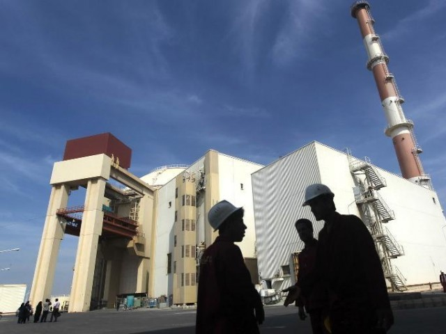 A nuclear power plant in southern Iran. PHOTO: AFP/FILE