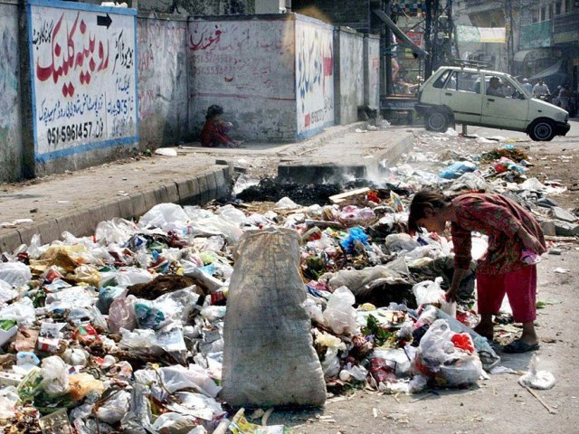 """CDA, PHA and TMA work hand-in-hand to clean the area before the arrival of any foreign dignitary, but they conspire to leave a stench in the air after the VIP is gone,"" laments Muhammad Baqir from Dhoke Lilyal. PHOTO: APP/FILE"