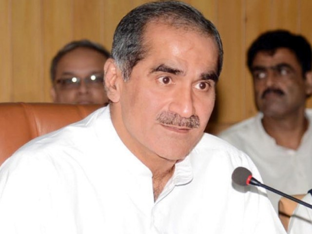 Khawaja Saad Rafiq. PHOTO: FILE