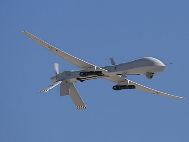 A file photo of a drone. PHOTO: AFP
