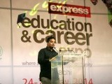 Debate competition during the Express Education and Career expo 2014 in Karachi. PHOTO: ATHAR KHAN/EXPRESS