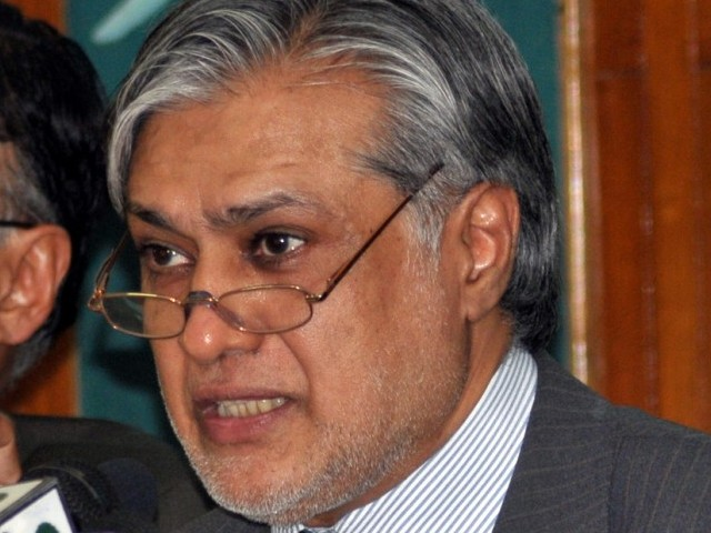 Our government will build an  economy that is not dependent  on others except through trade  and investment, and based on  competitive advantage and market  considerations, Ishaq Dar stated during his budget speech. PHOTO: ZAFAR ASLAM/EXPRESS