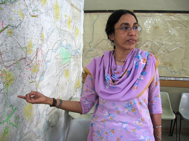 Orangi Pilot Project's (OPP) former director Perveen Rehman. PHOTO: NPR
