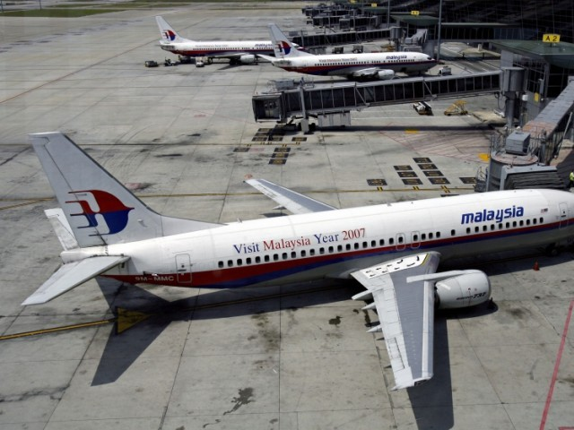 A file photo of a Malaysia Airlines aircraft. PHOTO: AFP/FILE