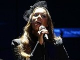 British singer Leona Lewis delivers a phenomenal performance at the prestigious award ceremony. PHOTO: REUTERS