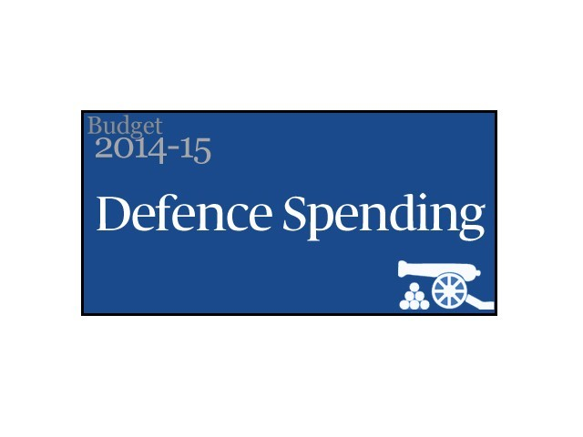 Defence expenditure almost doubled in last five years.
