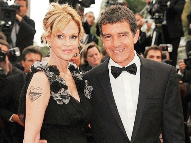 Melanie Griffith, who earned an Oscar nomination for her role in the 1988 romantic comedy Working Girl, has requested spousal support from Antonio Banderas. PHOTO: FILE