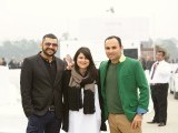 Tajdar, Selina and Hissam. Porsche Pakistan sponsors the National Polo Open for the Quaid-e-Azam Gold Cup 2014 in Lahore. PHOTOS COURTESY PORSCHE PAKISTAN