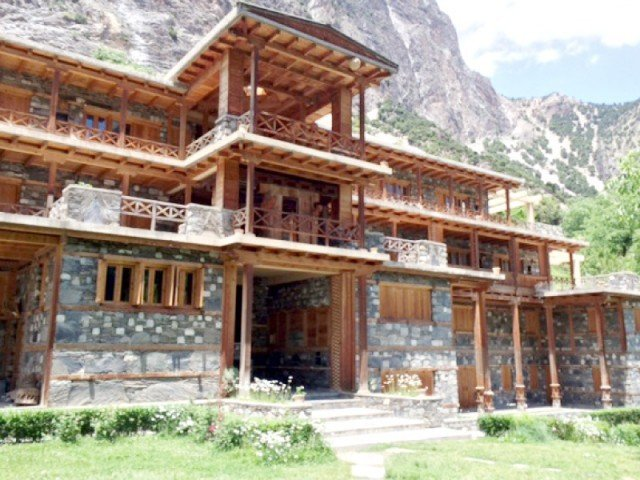 The Kalasha Dur was constructed in Bumburet Valley 10 years ago and houses an invaluable collection of artefacts, costumes and crafts from the historic culture. PHOTO: TOOBA MASOOD/HIDAYAT KHAN/EXPRESS