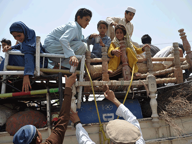 A file photo of IDPs. PHOTO: AFP/FILE