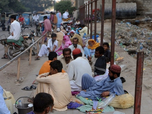 Pakistan, which is on 146 out of total 187 countries, scored 0.537 points on HDI, showed improvement of mere 0.002 points from last year's score of 0.535. PHOTO: AFP