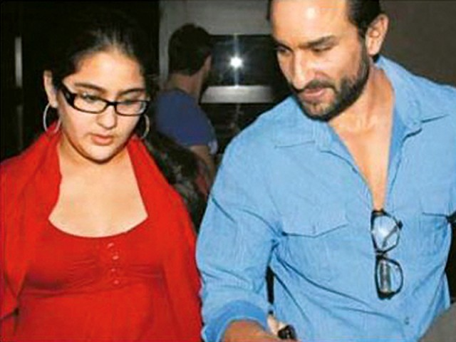 Saif, who got married to Kareena in 2012, was previously married to Amrita and has two children with her — Sara and Ibrahim. PHOTO: FILE