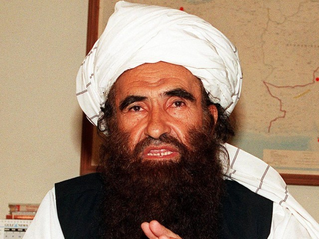 Haqqani group leader Sirajudin Haqqani. PHOTO: AFP