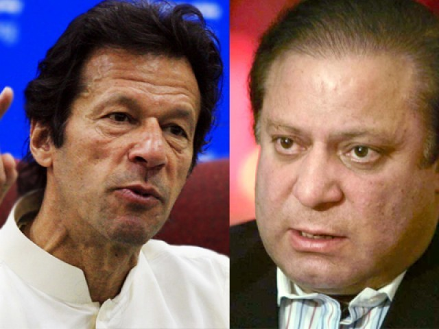 Imran Khan not as popular as and Nawaz Sharif, PEW survey finds.