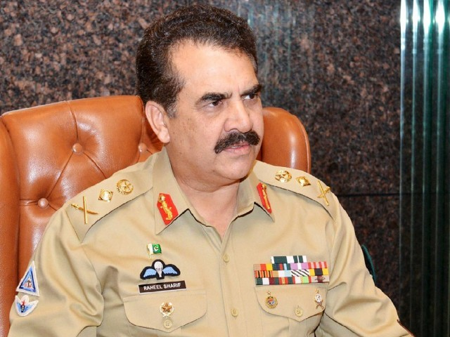 The army chief asked the stake holders to resolve the crisis. PHOTO: ONLINE