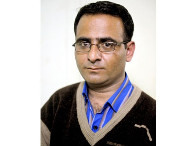 Irshad Mastoi, 34, was among the veteran journalists in Balochistan and wrote for local and national newspapers.  PHOTO: ONLINE
