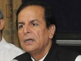 PTI President Javed Hashmi. PHOTO: EXPRESS/IRFAN ALI