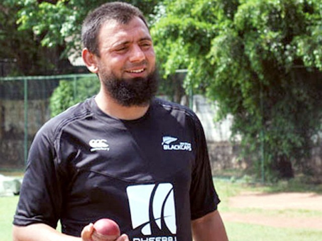 Saqlain's invention has come under renewed scrutiny since fellow Saaed Ajmal's ban. PHOTO: ESPNCRICINFO