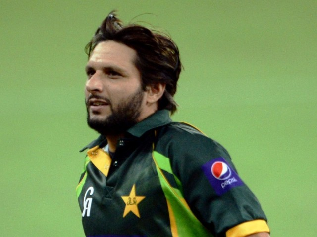 Shahid Afridi re-appointed as Twenty20 captain. PHOTO: AFP