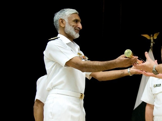 Admiral Muhammad Zakaullah. PHOTO: US NAVY