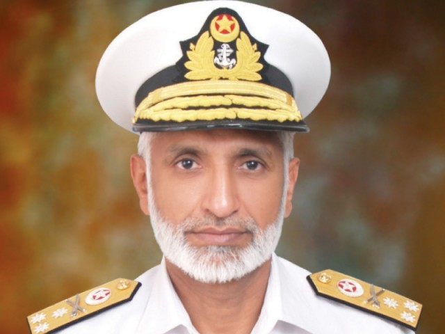 Vice Admiral Zakaullah. PHOTO: FILE